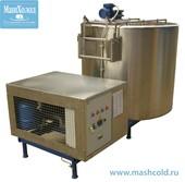 Емкости для хранения и охлаждения молока открытого типа