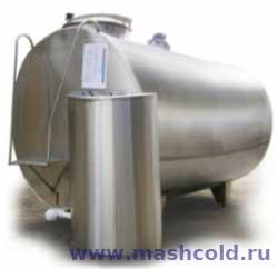 Процесс охлаждения молока